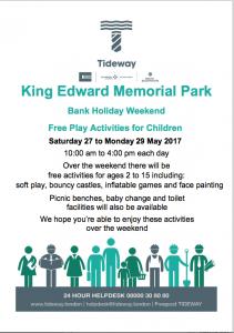 Shadwell Park Bank Holiday Weekend