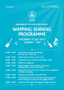 Wapping Summer Shindig July 15