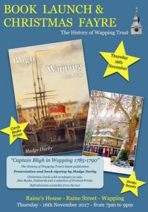 History of Wapping Trust book launch