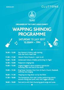 Wapping Summer Shindig July 15